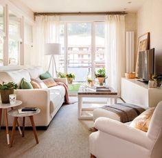 """1,123 Me gusta, 1 comentarios - El Mueble (@el_mueble) en Instagram: """"La regla de los tres tercios, una barra de cortina más larga que la ventana, piezas de doble uso,…"""""""