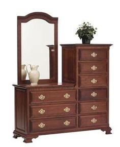 Amish Victoria's Tradition Dresser If you could get two side by side