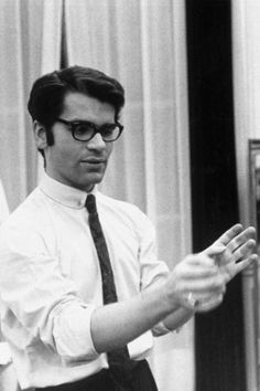 Karl Lagerfeld at Chloé, 1964