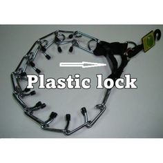 Dog Collar Prong Pinch Choke Stop Plastic lock,Adjustable 50 cm - 20 inches Listing in the Collars, Leads, Muzzles & Tags,Dogs,Pets,Home & Garden Category on eBid Europe | 145669648