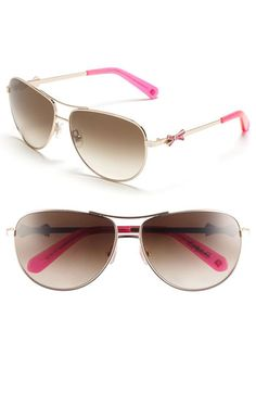 kate spade new york 'circe' metal aviator sunglasses available at Nordstrom
