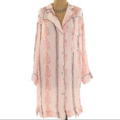 Free people Never worn. Super cute! 100% rayon. Gardenia combo. Comes with extra button Free People Intimates & Sleepwear