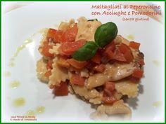 Maltagliati al peperoncino con acciughe e pomodorini di Manuela Di Maio