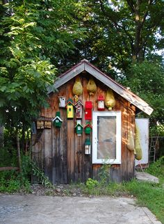 House of Nabu (cafe that also sells hand-made bird-houses), in Biei Hokkaido