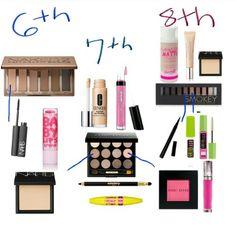 6th, 7th, 8th grade girls makeup