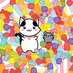 Today is the sweetest day of all year in Brazil! Happy Children's day!  – Hoje é o dia mais doce do ano! Feliz dia das crianças!