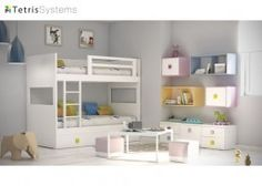 Habitación infantil litera