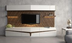 Modern TV Unit -Wooden Rich Design for Luxurious Room Interiors Lcd Unit Design, Modern Tv Unit Designs, Lcd Panel Design, Living Room Tv Unit Designs, Modern Tv Wall Units, Wall Unit Designs, Tv Set Design, Tv Wall Design, Lcd Units