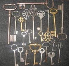 vintage keys - Google Search