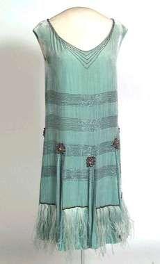 Flapper Dress - n.d. - Digitalt Museum, Norway - @~ Watsonette