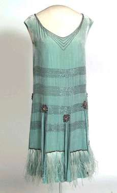 Flapper Dress - n.d. - Digitalt Museum, Norway - @Mlle
