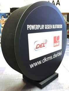 Deko-Objekt für den guten Zweck - POWERPLAY gegen Blutkrebs!