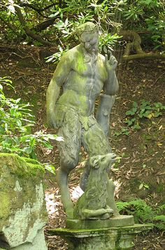 Statue of Pan, Chatsworth by Redscape, via Flickr