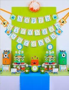 MOnster birthday for my little monster