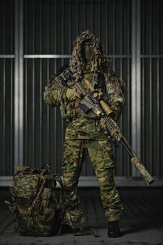 Operator from Norwegian Special Operation Commando (3456X5184)