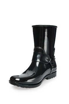 Stövel Fulton Harness Rainboot BLACK