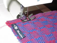 From Leigh's Fiber Journal - hemming handwovens. Good info here. Also, look for another post about a week later where she summarizes the comments to her post.