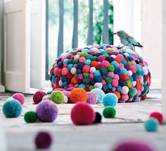 poof ball furnishing idea