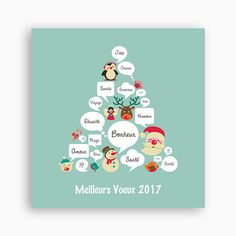 Carte de Voeux 2017 - Arbre à bulles 23511