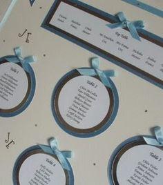 Simple! – Wedding Seating Chart Idea