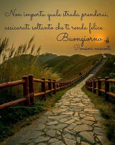 Che La Vita Continua: Buongiorno dolce e. Italian Quotes, Crazy Quotes, Life Is A Journey, Nature Tree, Mother Teresa, Day For Night, Good Mood, Good Morning, Positive Quotes