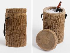 Log Stump Cooler | Cool Material