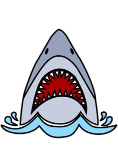 The post Shark Head With Open Mouth Free SVG File appeared first on SvgHeart.com. Shark Names, Free Coloring Pictures, Shark Head, Cricut Svg Files Free, Vinyl Monogram, Underwater Photography, Vinyl Projects, Creative Ideas, Preschool