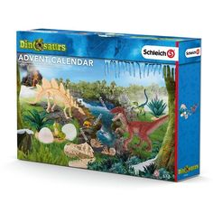 Buy Schleich North America Dinosaurs Advent Calendar 2016 Playset with discount. Baby Seahorse, Baby Mermaid, Christmas 2016, Christmas Birthday, Figurine Schleich, Office Calendar, Advent Calenders, Prehistoric Creatures, North America
