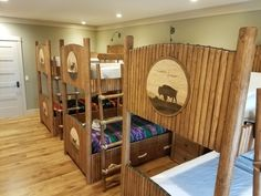 The allotment bunk room. By Tim Lozier. www.howkolafurniture.con
