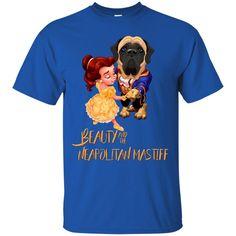 Beauty And The Beast Shirts Beauty And The Naepolitan Mastiff T shirts Hoodies Sweatshirts
