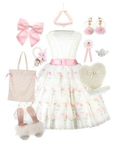 Designer Clothes, Shoes & Bags for Women Cute Girl Outfits, Girly Outfits, Retro Outfits, Classy Outfits, Kawaii Fashion, Cute Fashion, Fashion Outfits, Fashion Ideas, Fnaf Costume