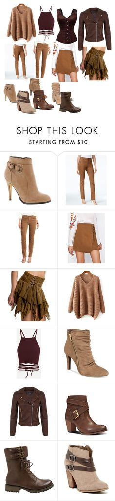 """""""Scar"""" by dolphinchic-dancr on Polyvore featuring Michael Antonio, GUESS, Style & Co., Chaps, Rialto, Miss Selfridge, Nine West, Yellow Box and Carlos by Carlos Santana"""