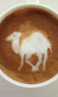 Camel Latte Art