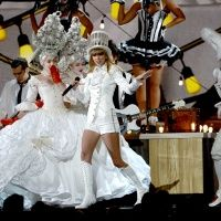 Taylor Swift performs on the 55th Annual GRAMMY Awards