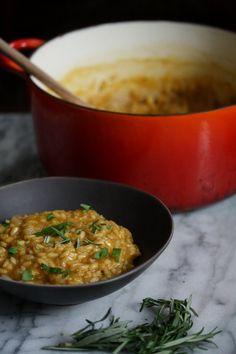 gluten-free pumpkin risotto recipe - quick, easy, and healthy!