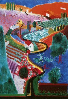 Pop art painting ideas david hockney 20 ideas for 2019 David Hockney Art, David Hockney Paintings, David Hockney Landscapes, David Hockney Photography, Pop Art Movement, Royal Academy Of Arts, Inspiration Art, Arte Pop, Art Abstrait