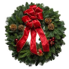 Crimson Delight #Christmas #Wreath