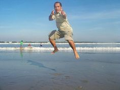 Flying in Kuta