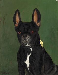 A Gentleman, 1928 by Adolf Dietrich on Curiator, the world's biggest collaborative art collection. French Bulldog Pictures, Bulldog Images, French Bulldog Art, French Bulldogs, Custom Dog Portraits, Pet Portraits, Figurative Kunst, Naive Art, Grafik Design