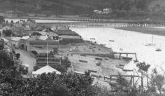 Beach and Bridge Devon, Closer, Bridge, Beach, The Beach, Bridge Pattern, Bridges, Beaches, Attic