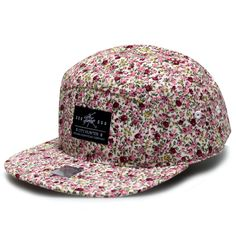 67927921a16 City Hunter Cn562 Floral 5 Panel Hat (Purple) at Amazon Men s Clothing  store