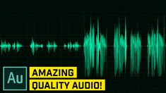 Make Your Audio and Voice Sound Better – Audition CC Tutorial Web Design, Layout Design, Graphic Design, Motion Design, Adobe After Effects Tutorials, Photoshop Course, Vfx Tutorial, Wattpad Book Covers, After Effect Tutorial