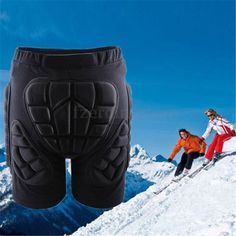 Sport hip bum armour #skiing snowboard motocross #motorcycle padded shorts #pants,  View more on the LINK: http://www.zeppy.io/product/gb/2/201478078390/