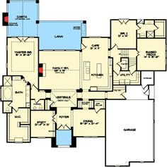 Second Floor Games Room - 67123GL | 1st Floor Master Suite, Bonus Room, Butler Walk-in Pantry, CAD Available, Corner Lot, Den-Office-Library-Study, Exclusive, Loft, Luxury, Media-Game-Home Theater, PDF, Split Bedrooms, Traditional | Architectural Designs