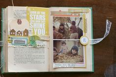 Happy Little Moments Book- Autumn page by Veronica Milan