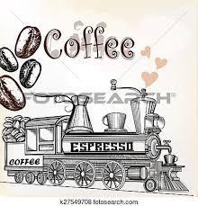 Resultado de imagem para trem de café