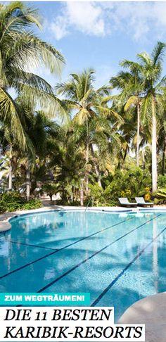 """Die Leser des Reisemagazins """"Condé Nast Traveler"""" haben entschieden und die besten Resorts der Karibik gewählt. TRAVELBOOK stellt 11 Preisträger des Readers's Choice Awards vor – und träumt sich an den Strand."""
