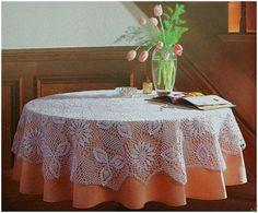 Delicadezas en crochet Gabriela: Mantel del diseño en ganchillo para ver esquemas dar clic en la imagen