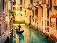 Gondola On Canal Venice Italy Stock Photo (Edit Now) 158038793 Travel Deals, Travel Destinations, Europa Im Winter, Angkor, Voyager Seul, Venice City, Venice Canals, Sites Touristiques, European Destination