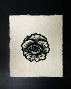 All Seeing Flower Patch by Goners on Etsy, $6.00